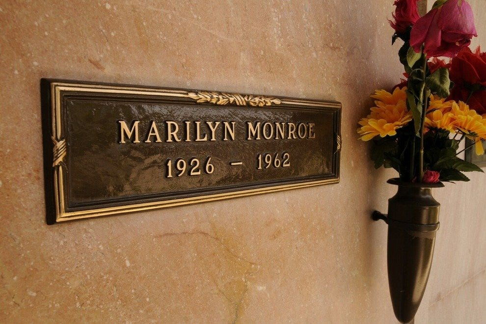 The Crypt of Marilyn Monroe