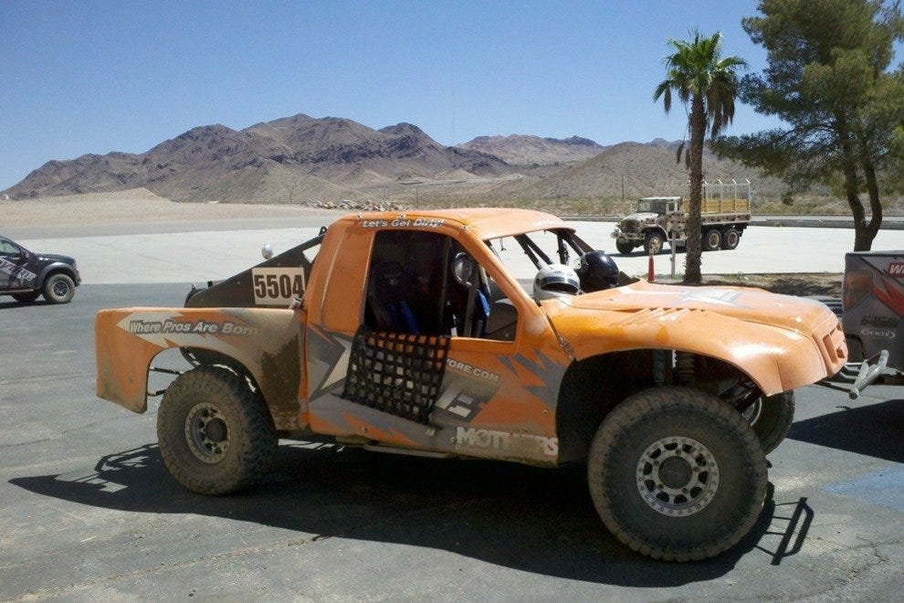 Ford Raptor at Vegas Off-Road Experience (VORE)