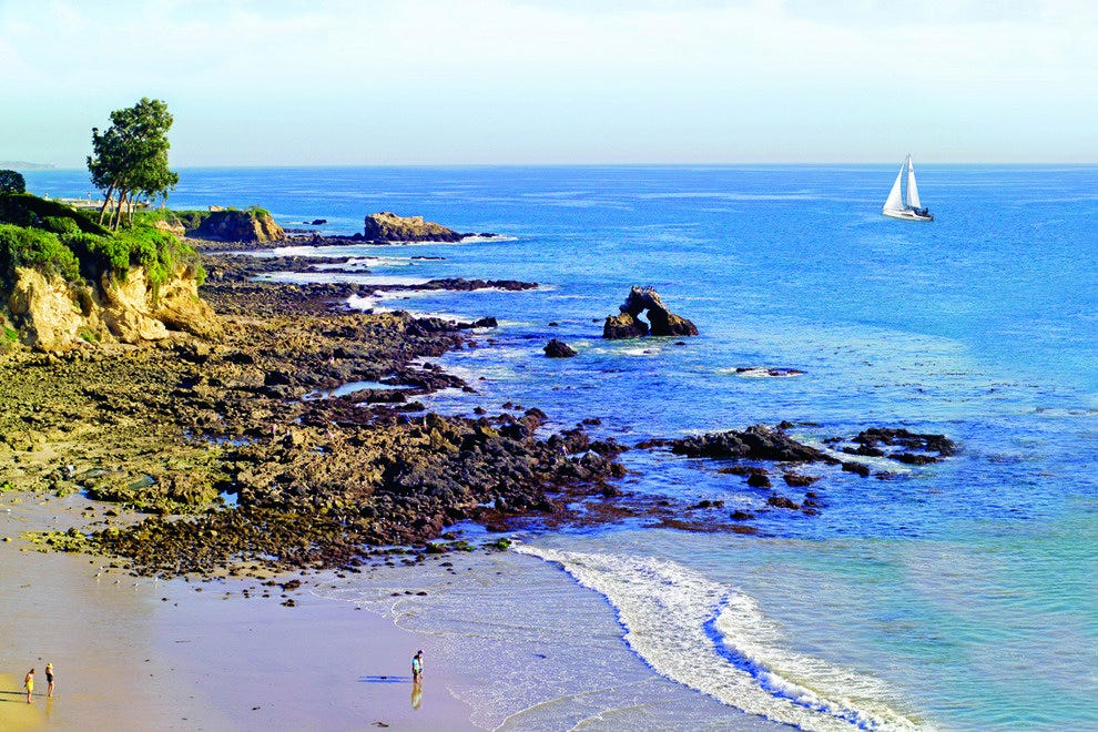Corona del Mar State Beach, California