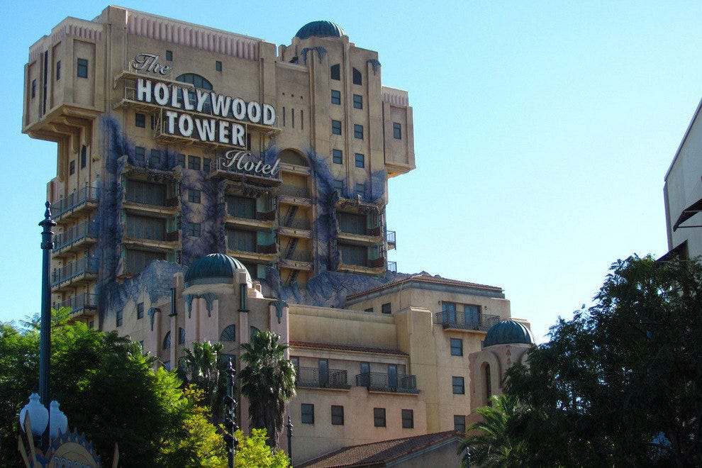 Tower of Terror - Disney California Adventure