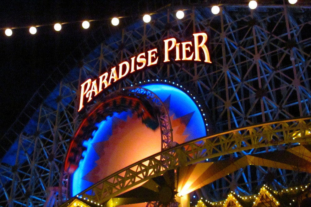 Paradise Pier - Disney California Adventure