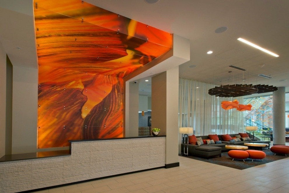 Lobby of SpringHill Suites by Marriott Denver