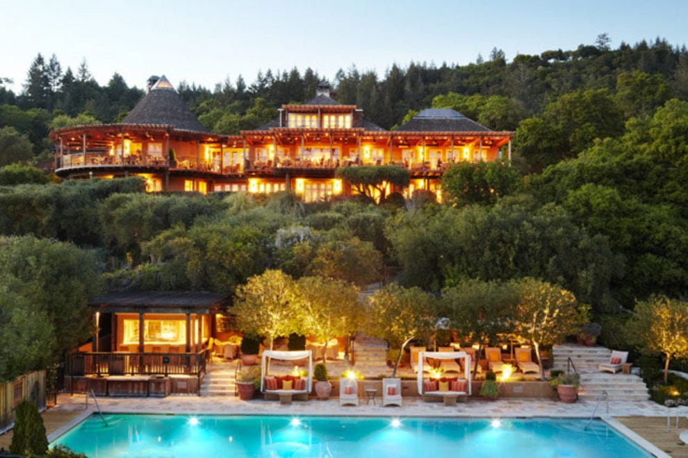 While less luxurious than some of napa 39 s more famed for Best hotel in america
