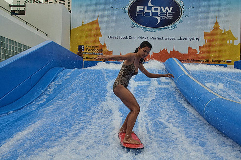Riding the waves at Flowhouse