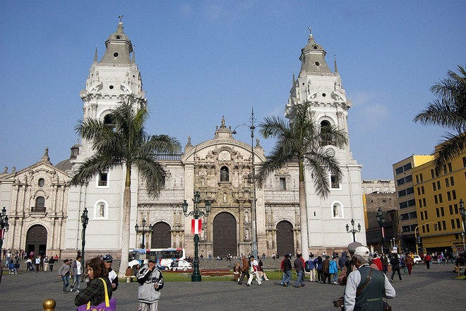 Sightseeing in Lima