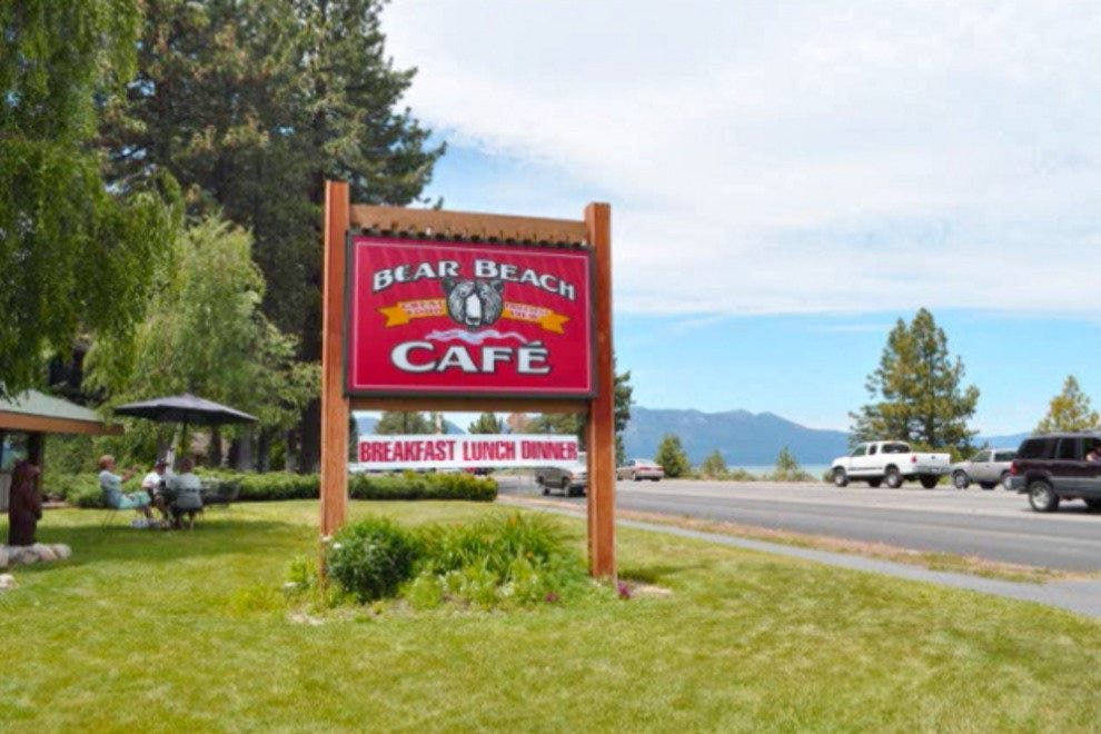 Bear Beach Cafe in South Lake Tahoe
