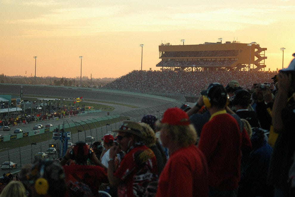 Turn One of Homestead-Miami Speedway
