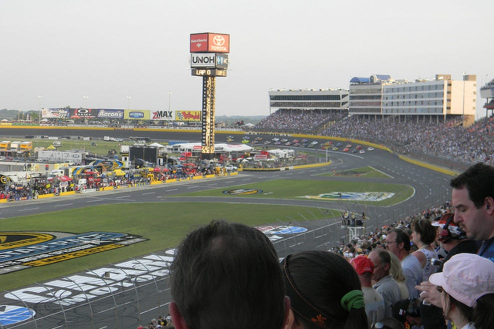Travel for nascar events fall roundup sports adventure for Events at charlotte motor speedway