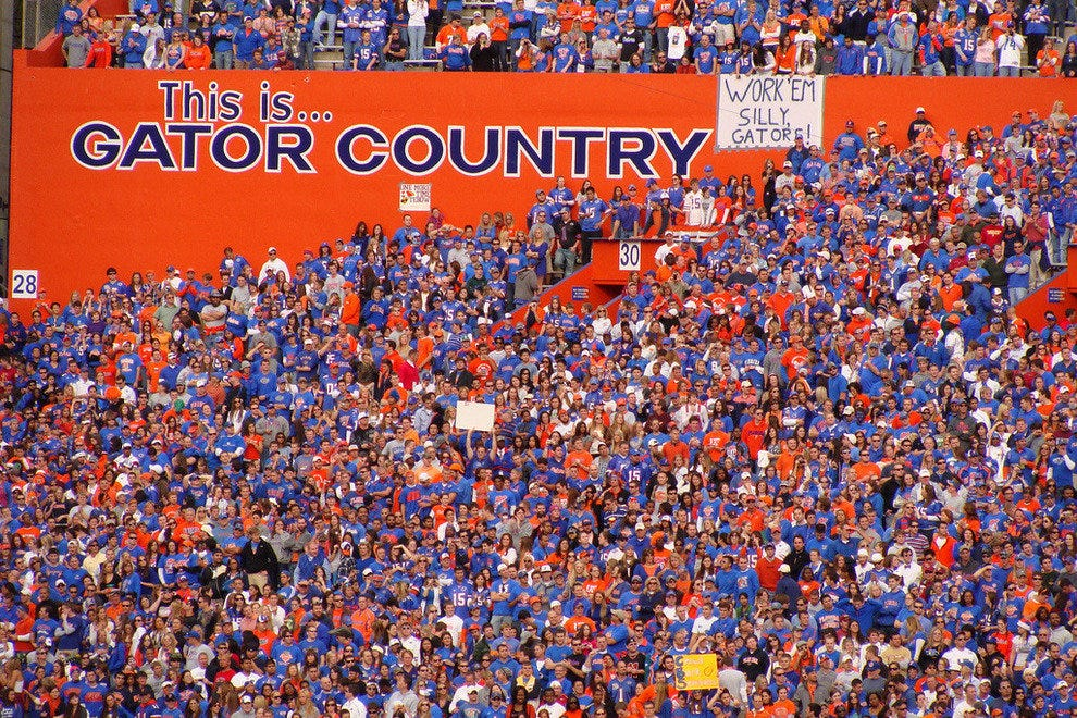 Gainesville, FL:  Home of the Florida Gators