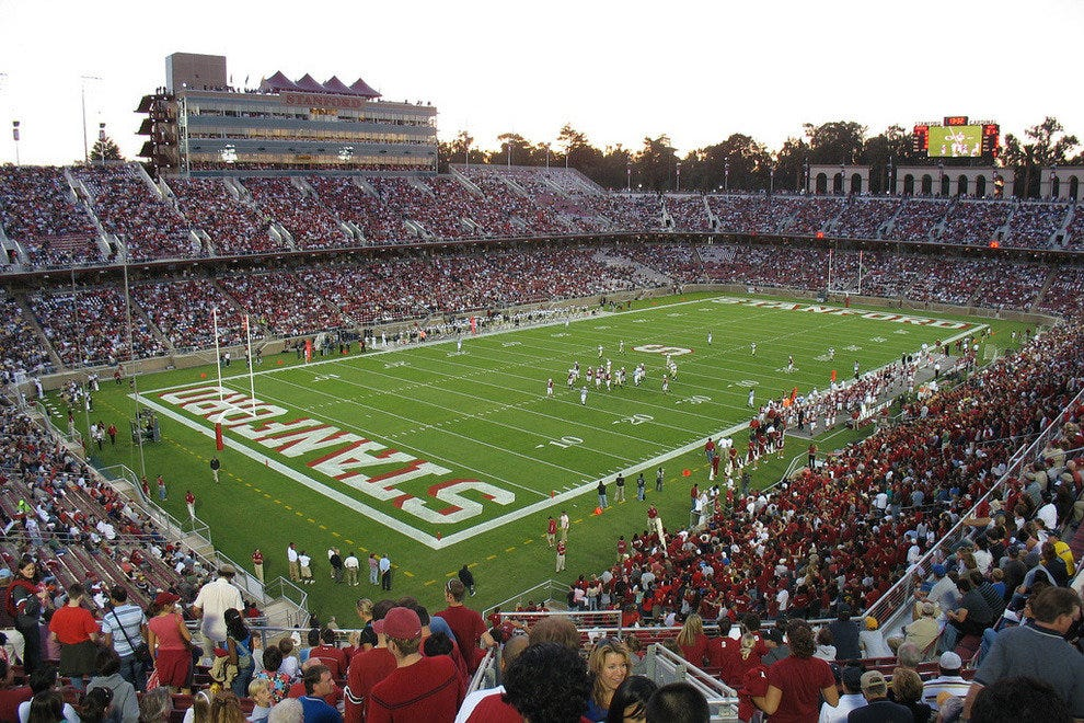 The Stanford Cardinal seeks glory on the gridiron in Palo Alto