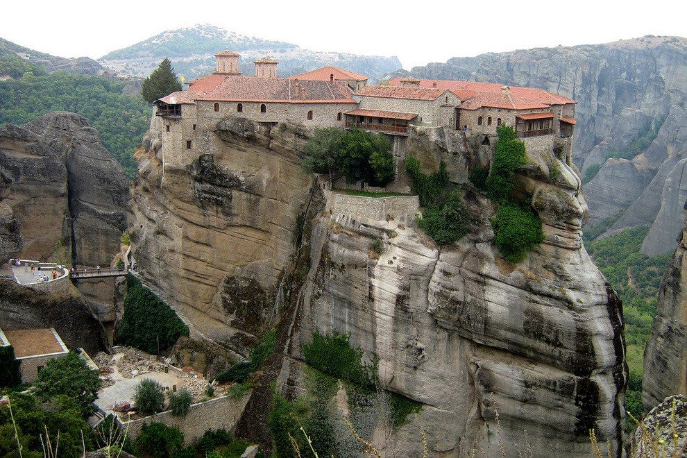 Monastery of the Holy Trinity in Meteora, Greece