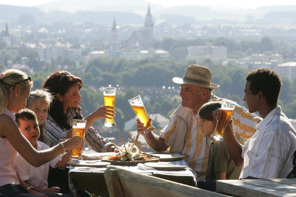 Dine with Gusto in Bavaria's Restaurants, Beer Gardens