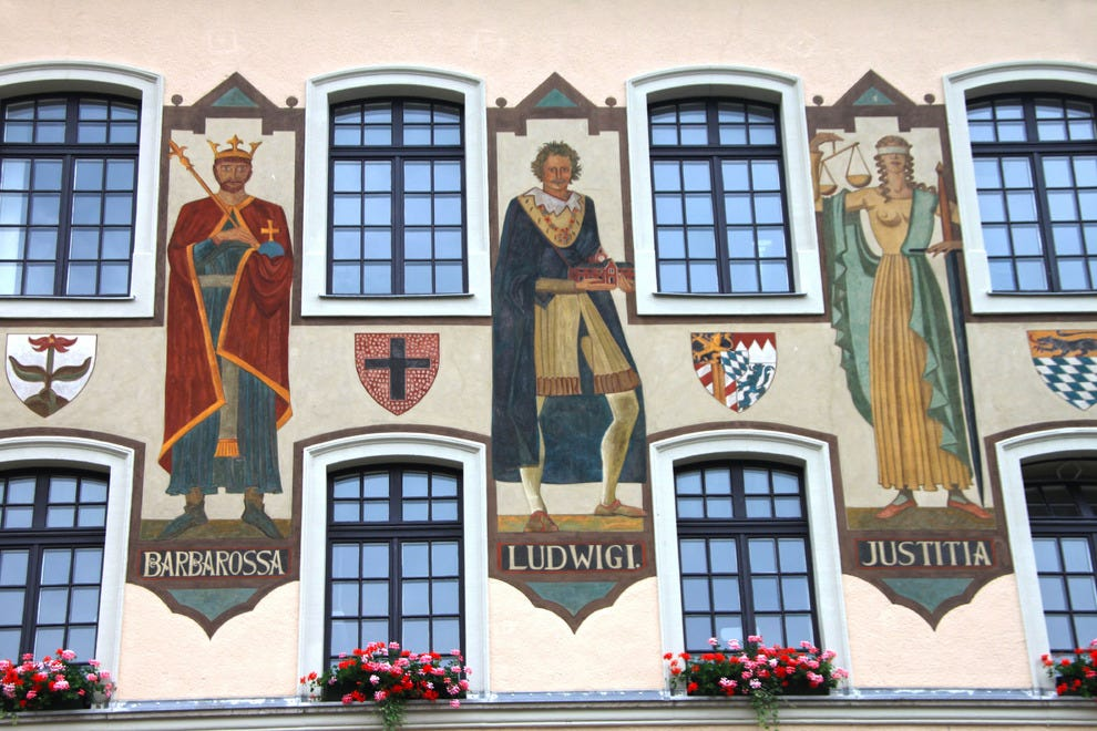 Bad Reichenhall Town Hall, Bavaria ,Germany