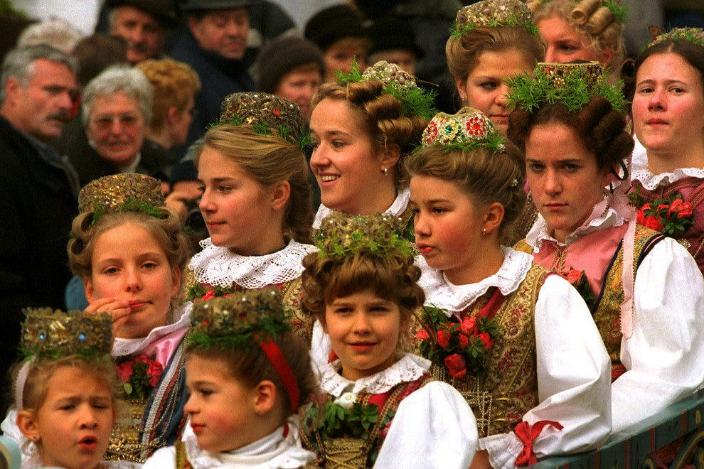Traditional Costumes are a Part of the Bavarian Way of Life