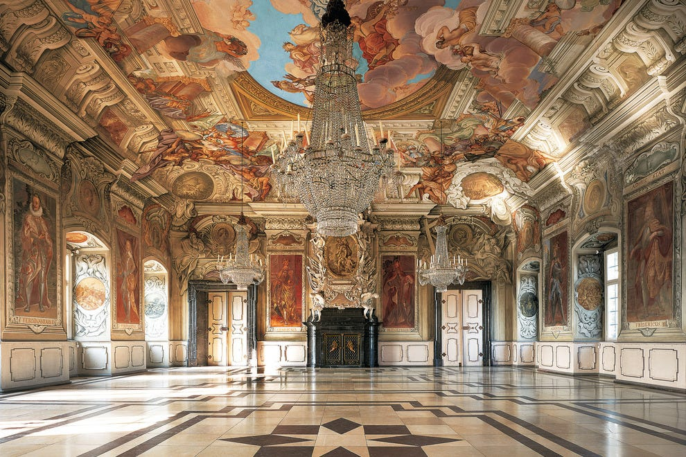 Emperor's Hall, Bamberg, Bavaria Germany