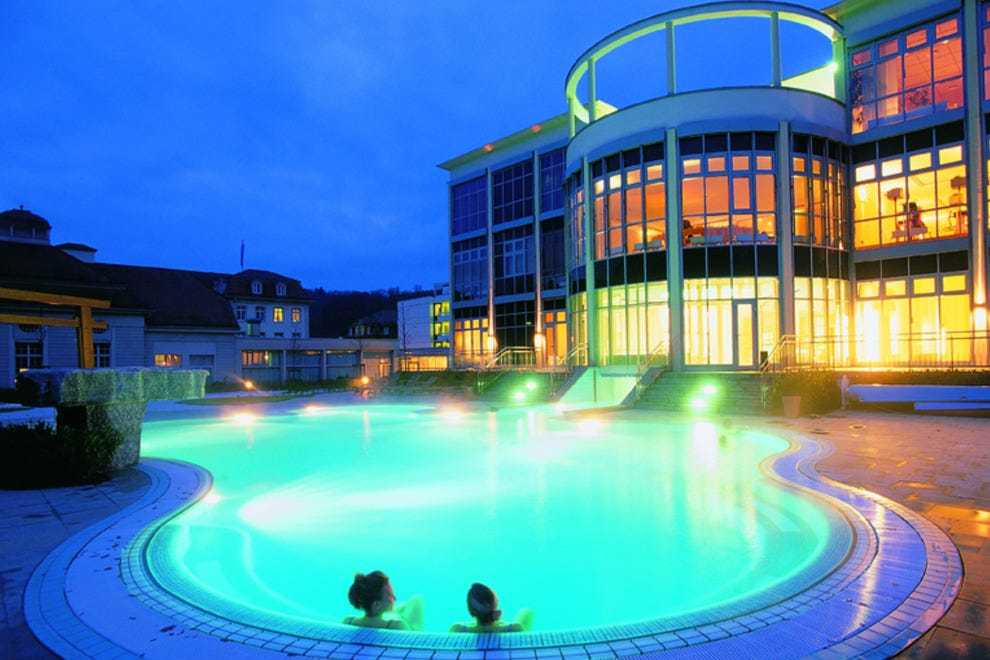 Spa Brueckenau, Bavaria, Germany