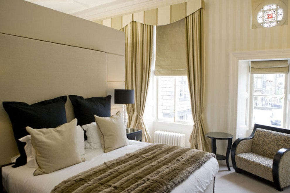 Bedroom at Fraser Suites Edinburgh