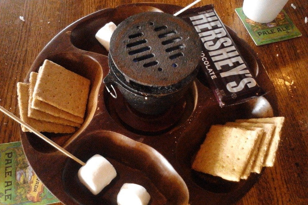 Inspire dessert envy. Entertain the kids. Try the S'mores.