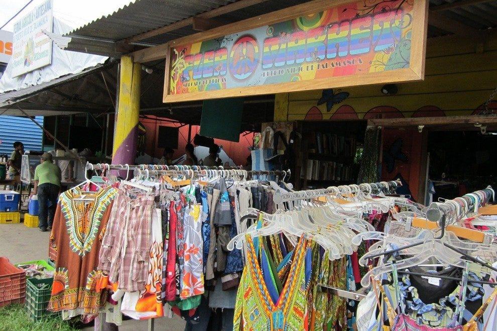 Puerto Viejo农贸市场和跳蚤市场
