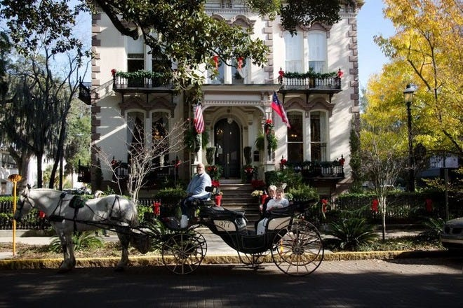 Historic District Hotels In Savannah