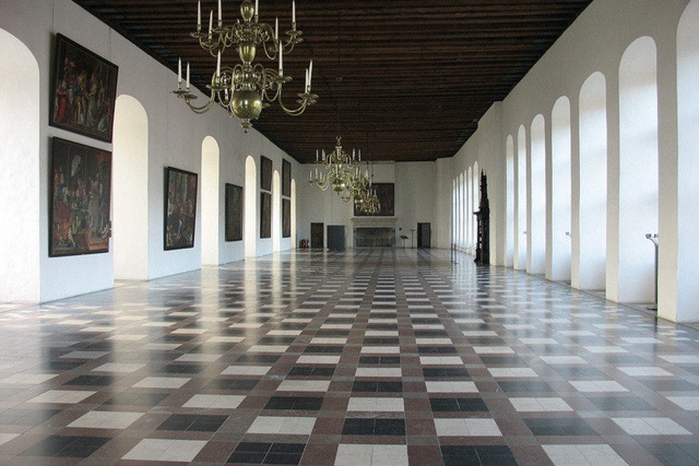 Kronborg has the longest ballroom in Europe.