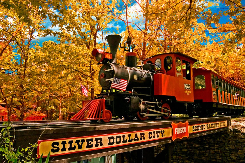 Silver Dollar City during the National Harvest Festival
