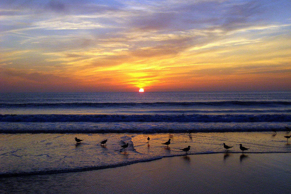 Myrtle Beach at sunrise