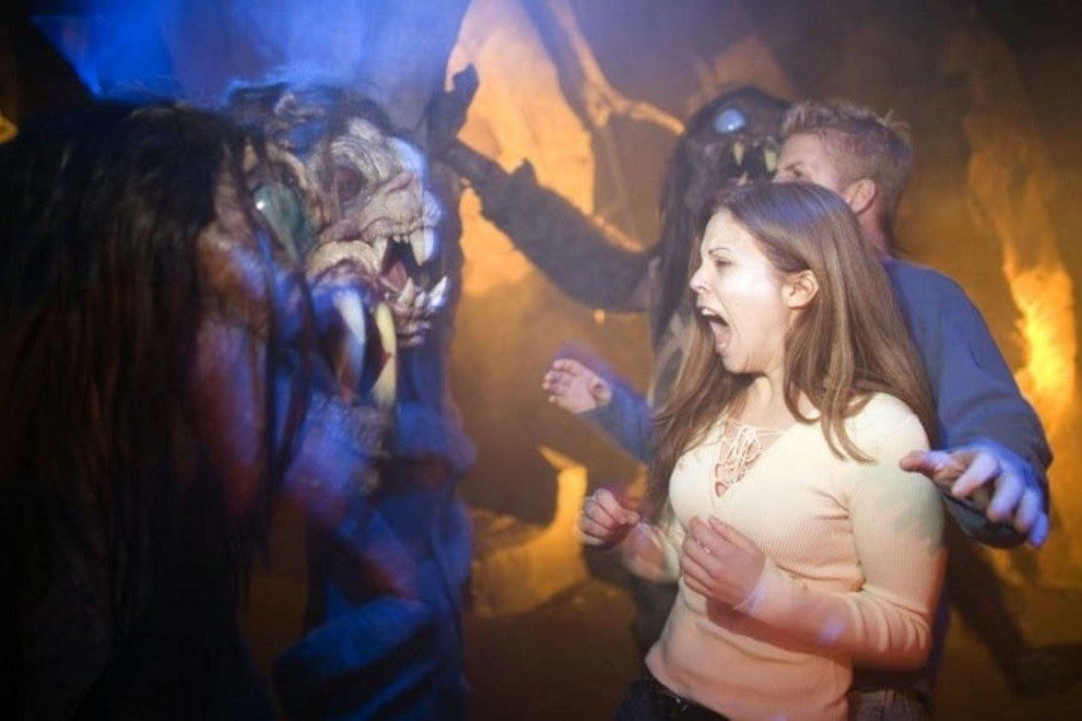 HHN's haunted houses are a scream. Literally.