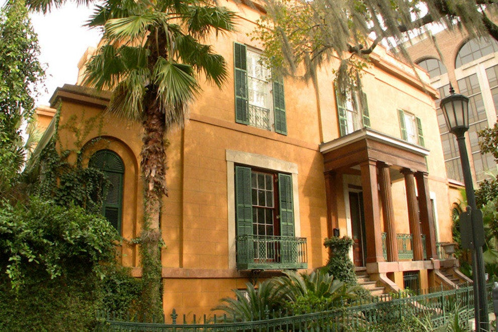 Many consider the Sorrel-Weed House to be Savannah's most haunted building