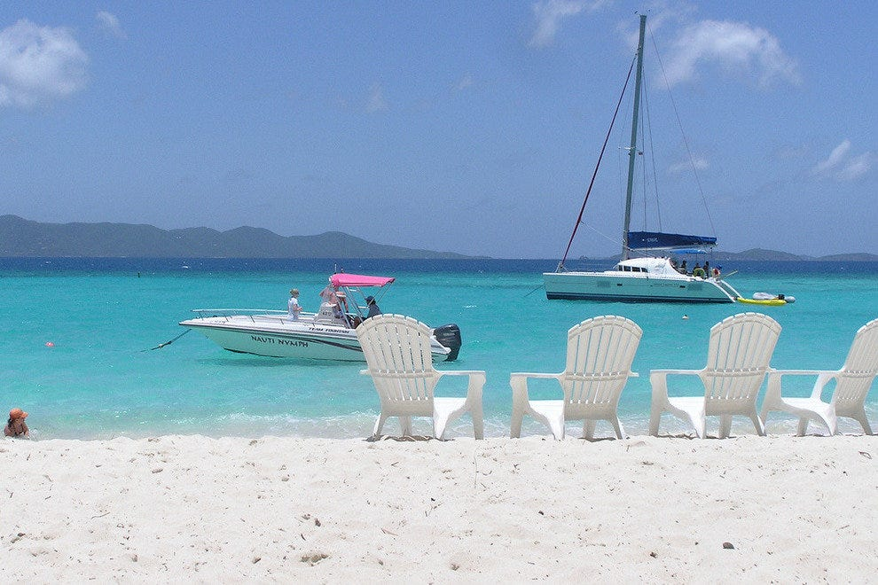The BVI are famous for attracting sailors