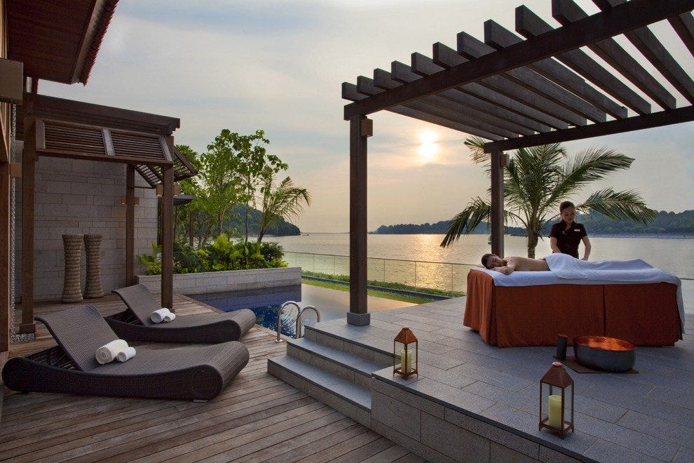 Two beach villas offer the ultimate in pampering privacy