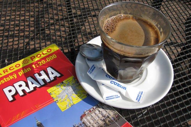 Cafés in Prague