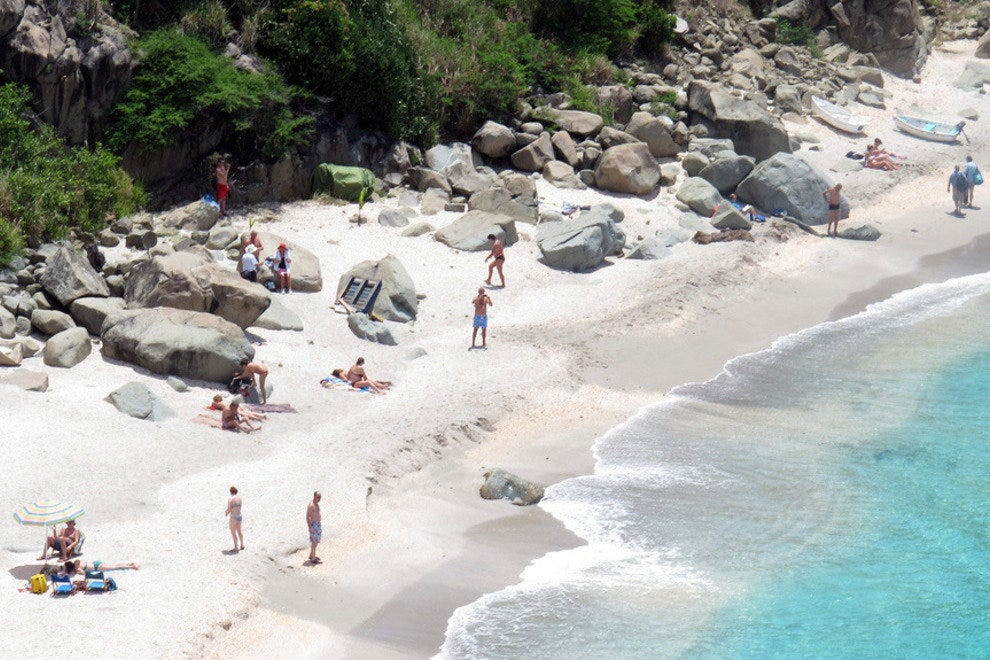 Shell Beach on St Barts