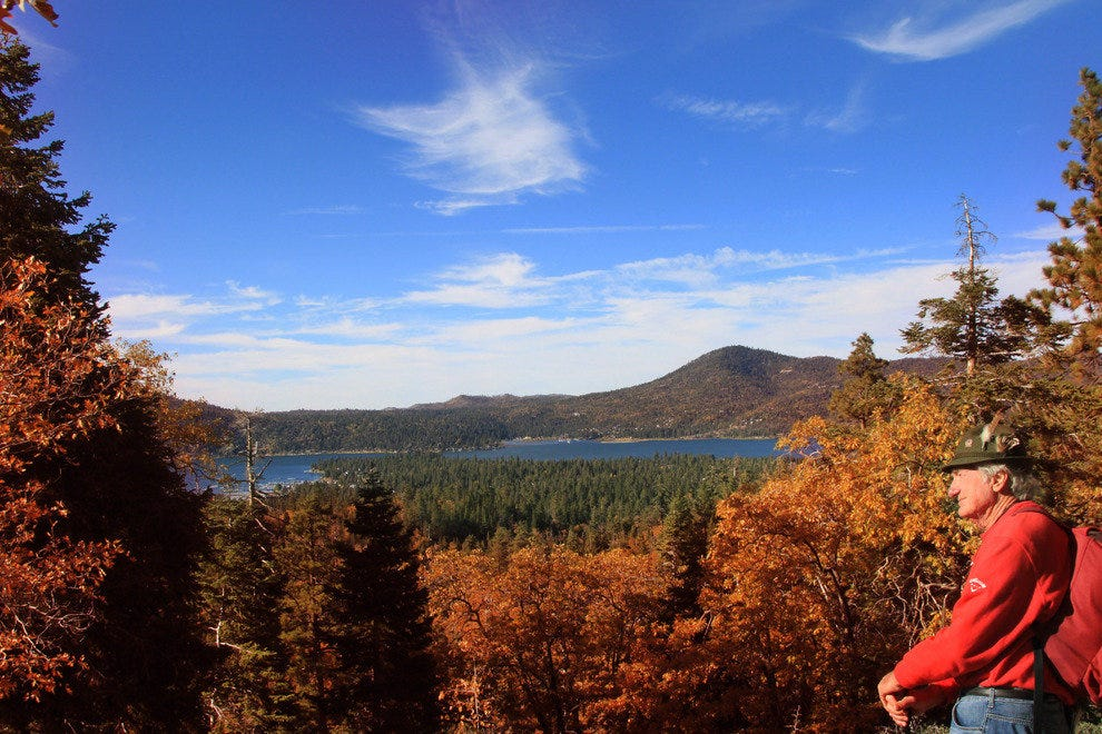 Hiking at Its Best in the Crisp Fall Air above Big Bear Lake