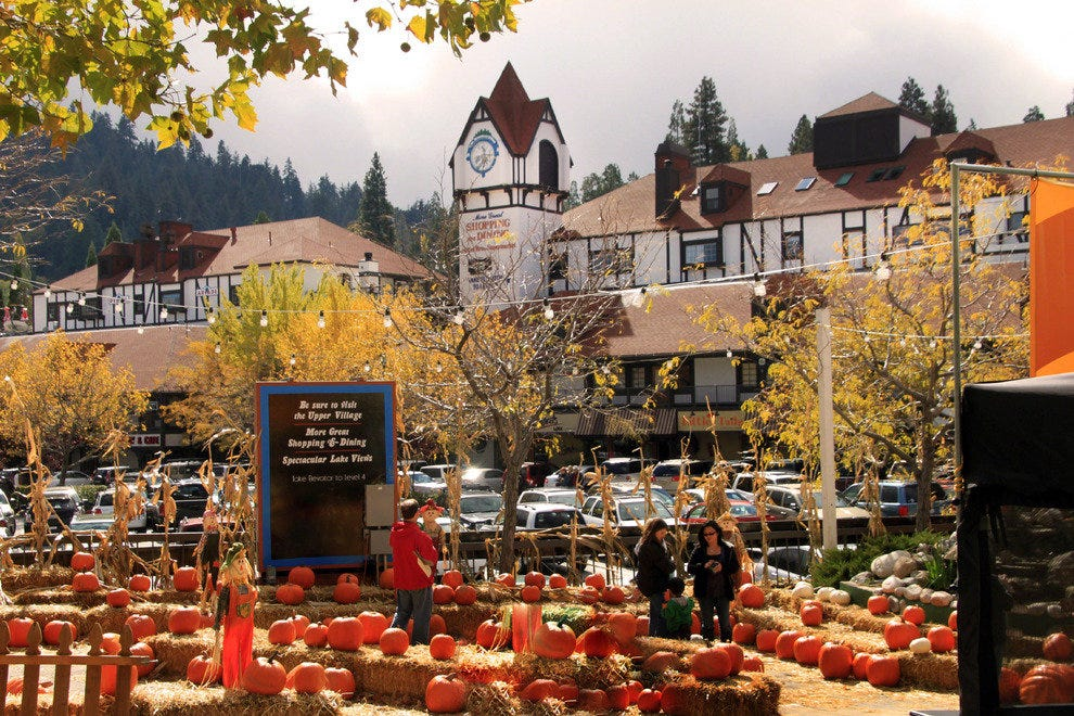 Lake Arrowhead decked out for Fall