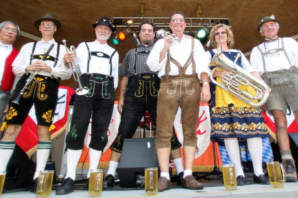 Oktoberfest Band, Lake Arrowhead