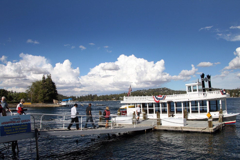 The Lake Arrowhead Queen Paddle Wheeler