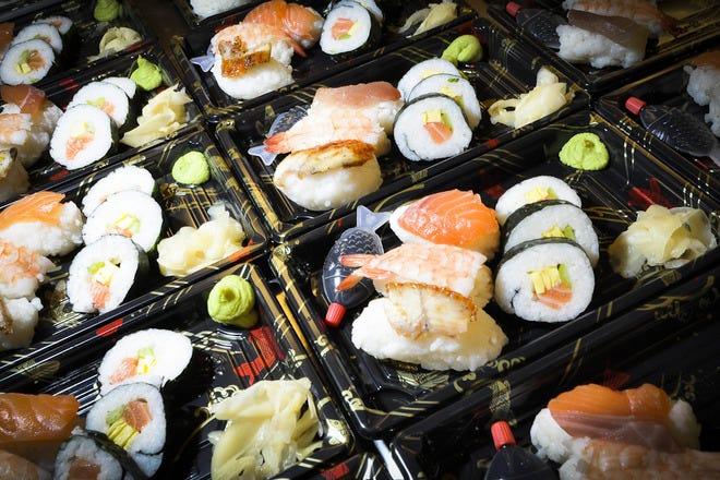 Sushi in Rome
