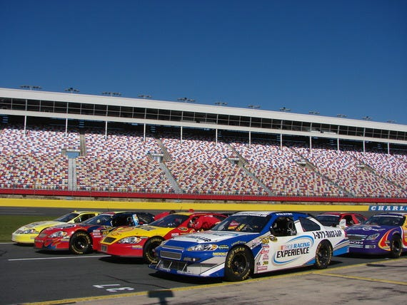 The nascar racing experience makes your dreams a reality for Charlotte motor speedway nascar experience