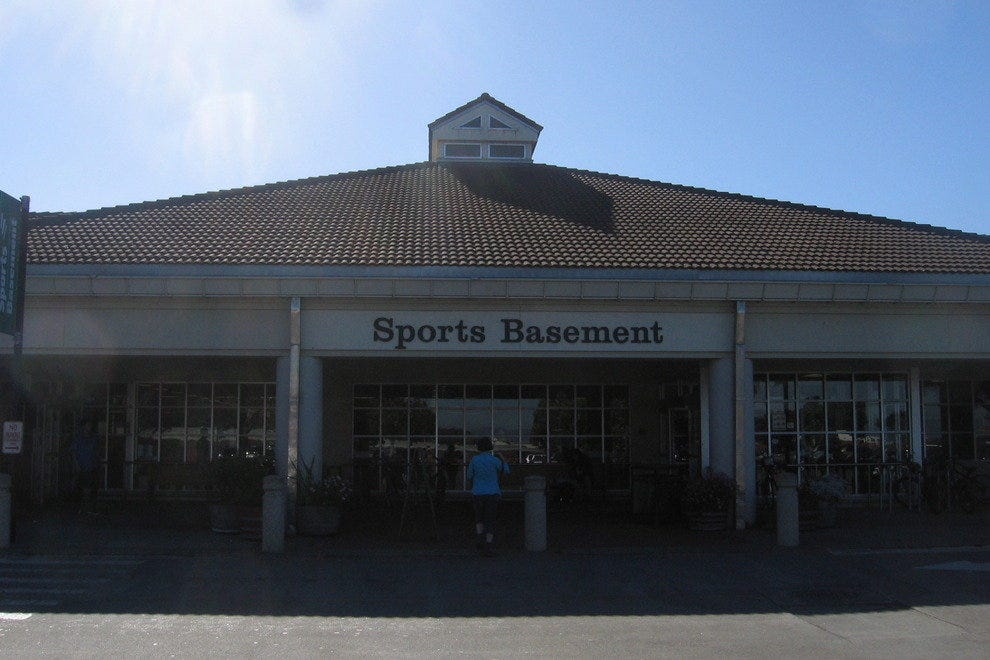 san francisco 39 s sports basement is a top pick for shopping
