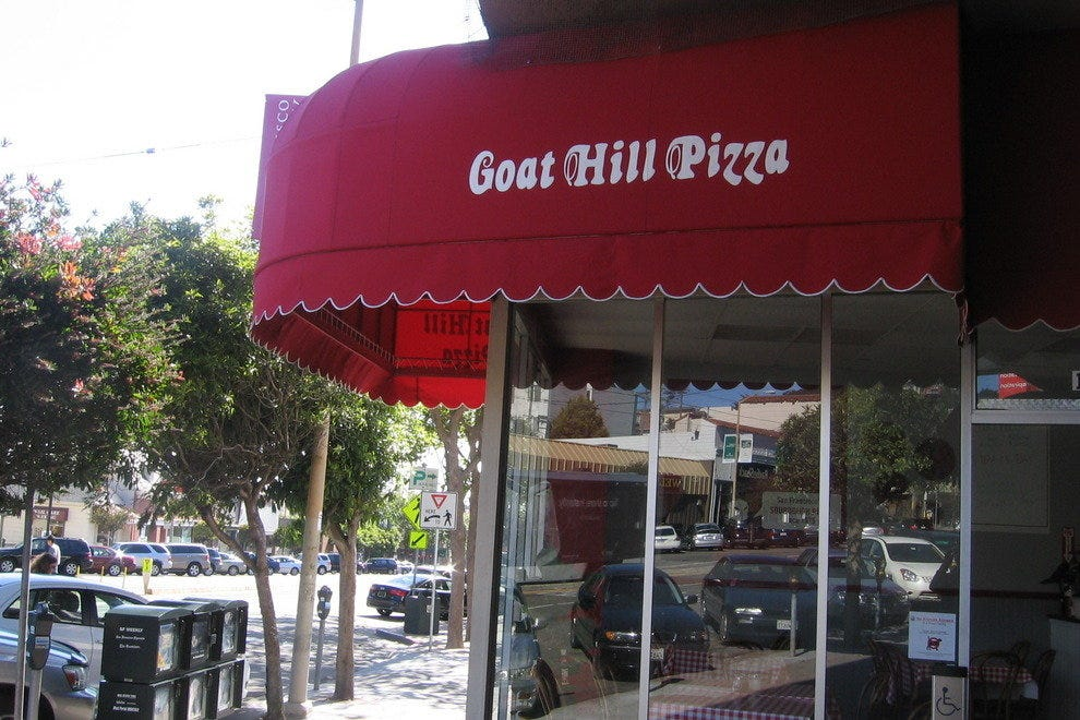 Goat Hill Pizza, West Portal
