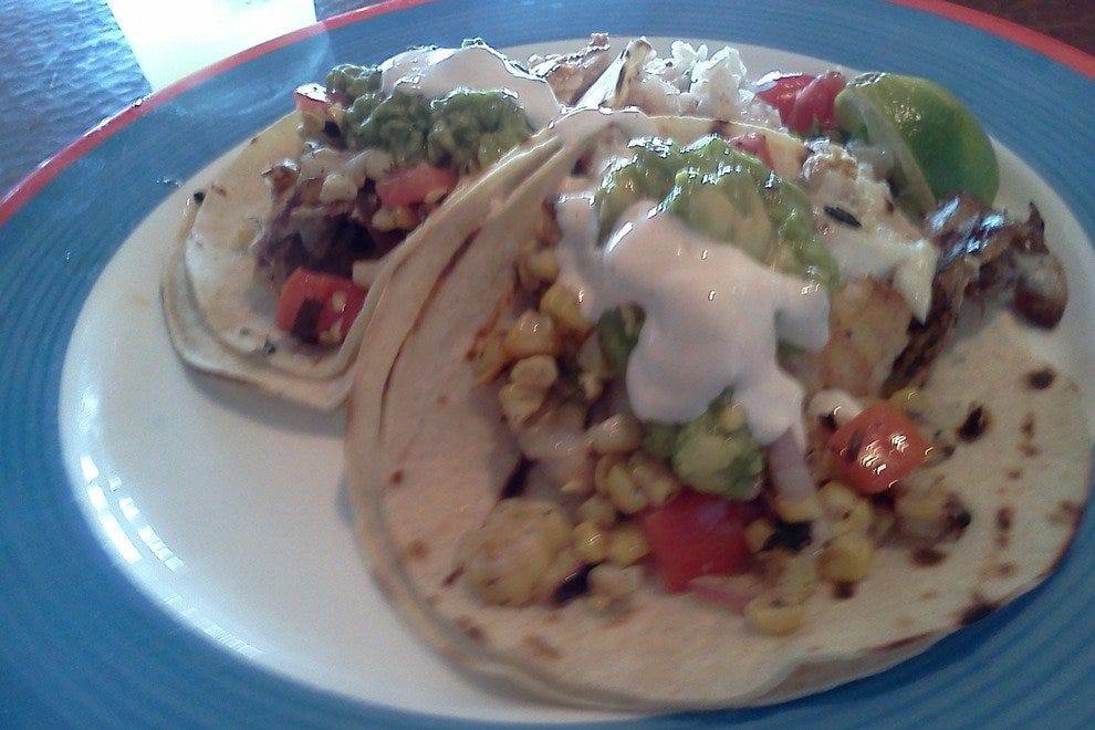 Fish tacos at Millie's