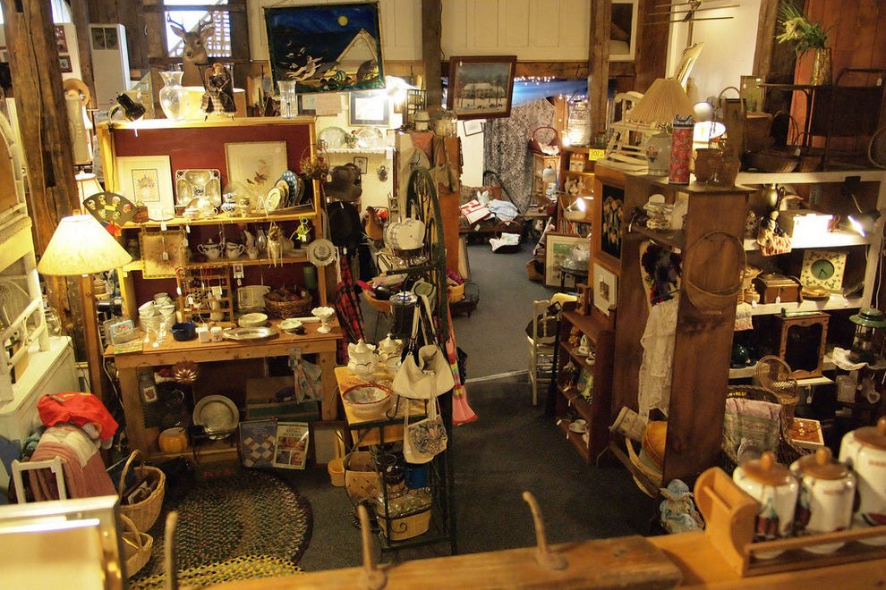 10 Best Antiquing In New England A Treasure Trove For Collectors Romance Article By