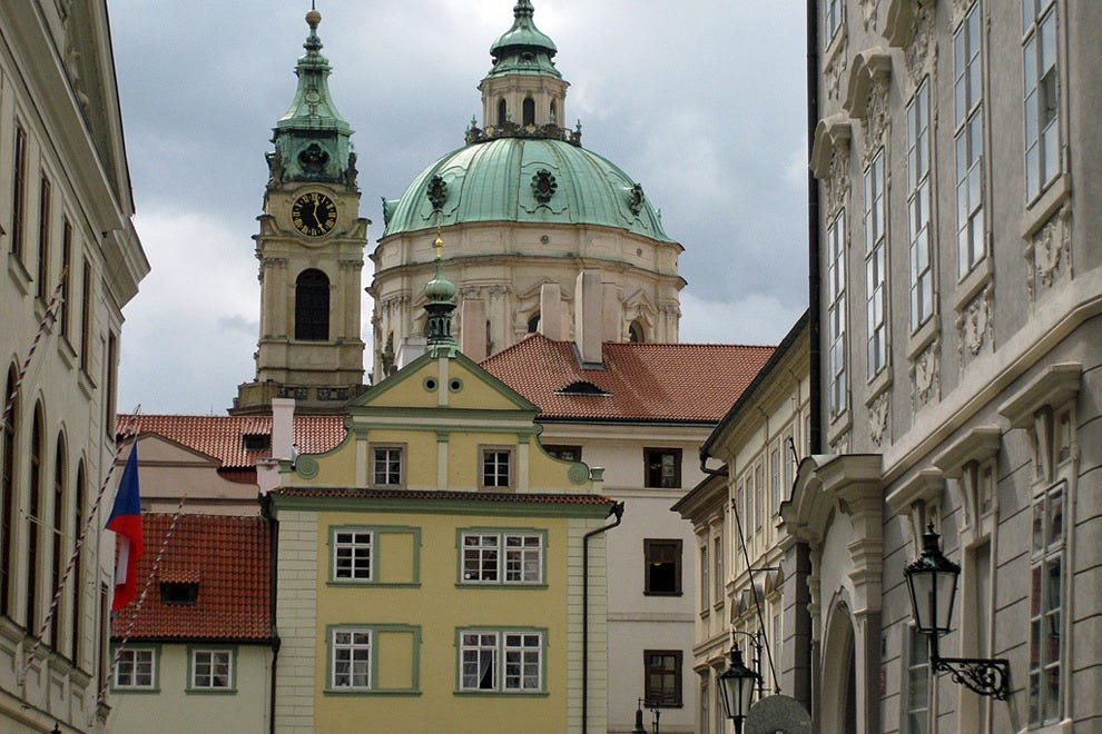 Things to do in prague 01 mala strana prague for Best hotels in mala strana prague