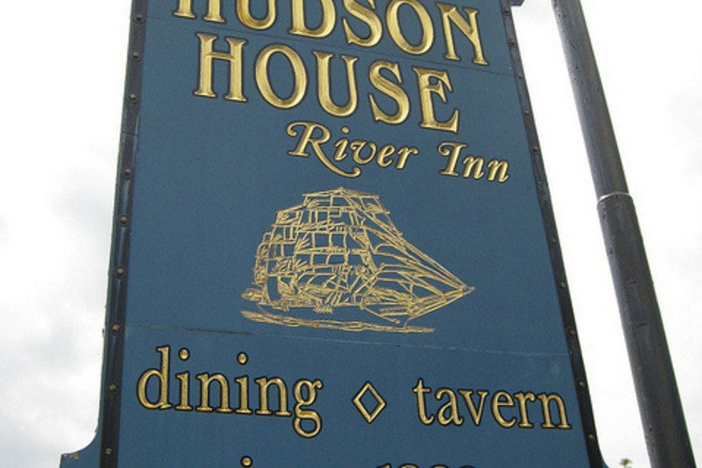 Hudson House Inn is an historic waterfront eatery