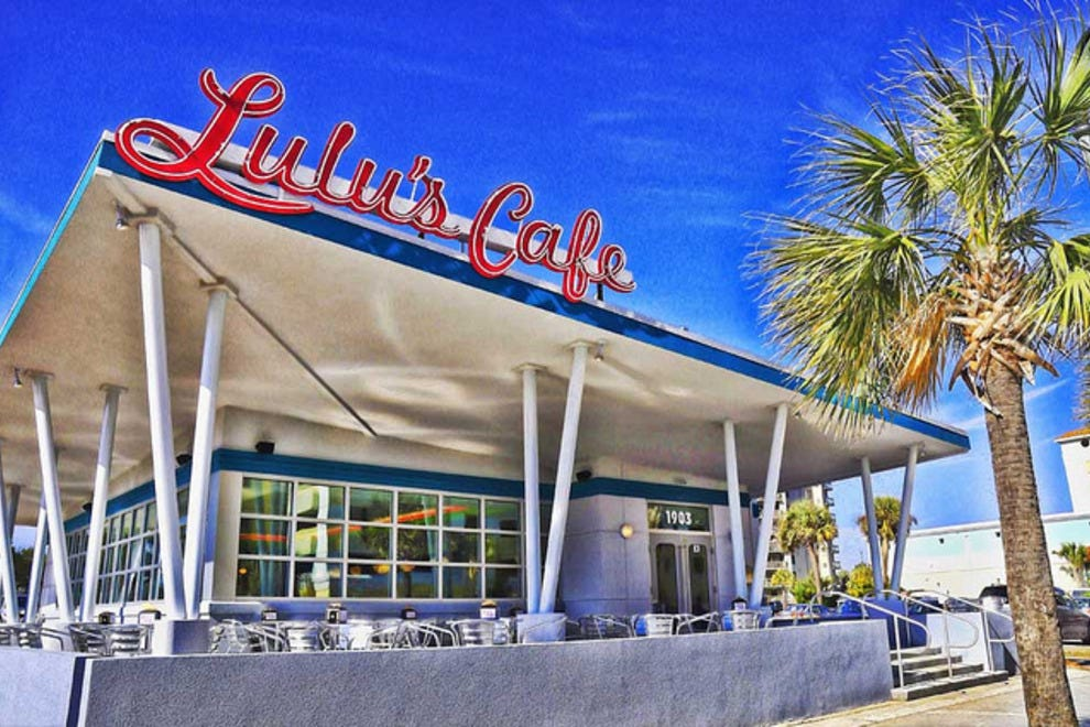 Lulu Cafe Menu Myrtle Beach