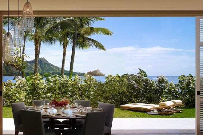 Restaurant Slideshow Outdoor Dining In Honolulu