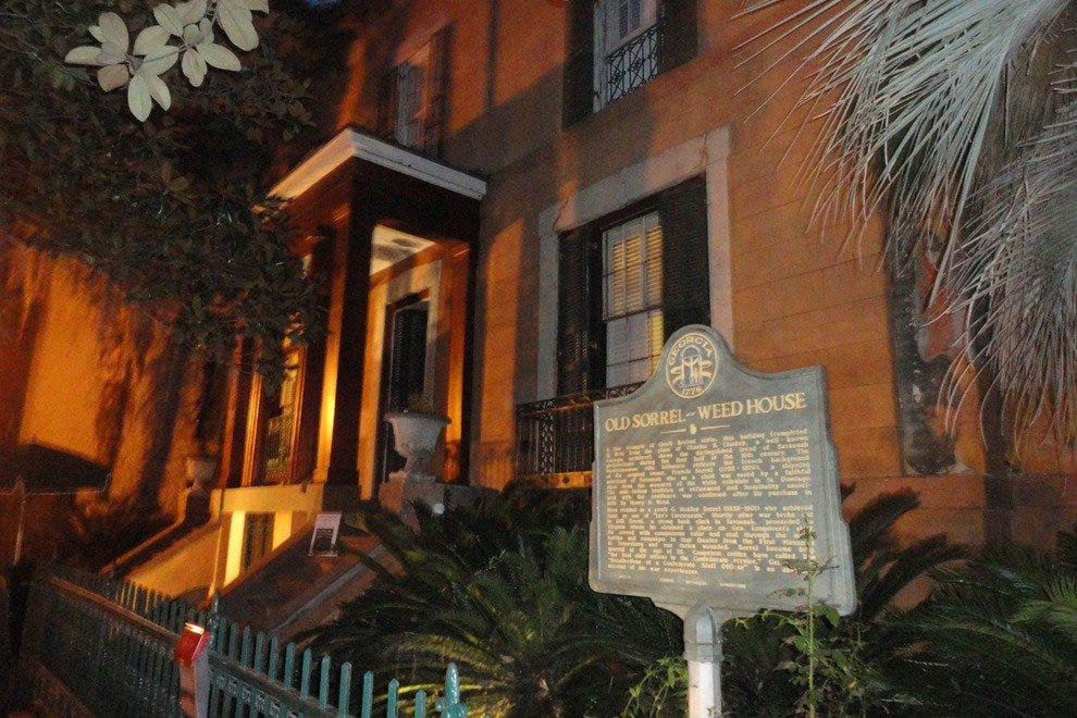 The Sorrel Weed House holds the distinction of being Savannah's most haunted building.
