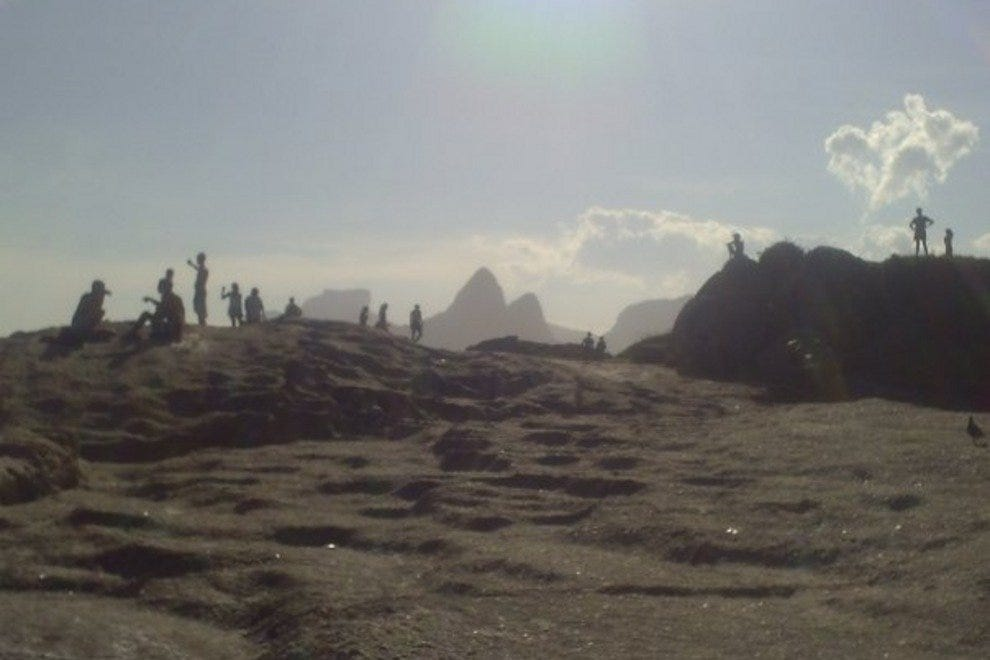 Arpoador Rock takes in impressive views of Rio's beaches and mountains