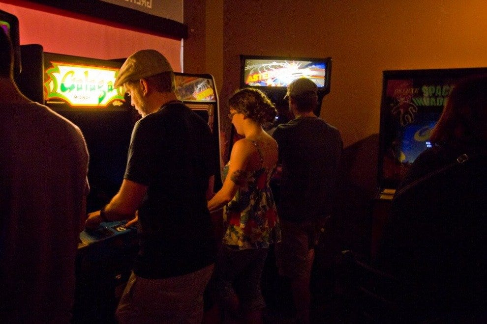 Gen-X Gamer Heaven: Asteroids to Galaga, Donkey Kong to Space Invaders.